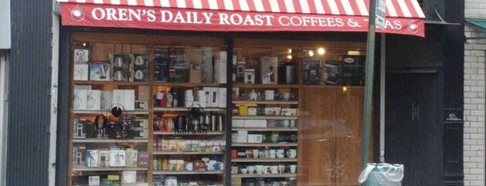 Oren's Daily Roast is one of NYC Manhattan East 65th St+.