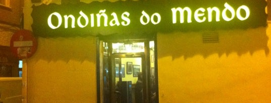 Ondiñas do Mendo is one of comer.