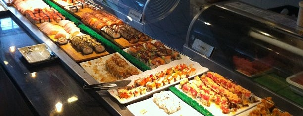 Ginza Japanese Buffet is one of Sergei 님이 좋아한 장소.