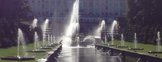 Peterhof Museum Reserve is one of Ancient manors of Russia.