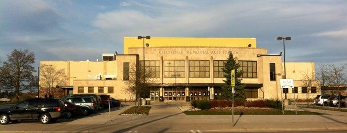 Kitchener Memorial Auditorium Complex is one of Kitchener Waterloo Oktoberfest Festhallen.
