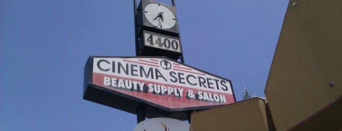 Cinema Secrets is one of While In California.