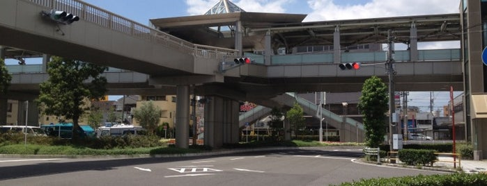 JR Kariya Station is one of 東海道本線.