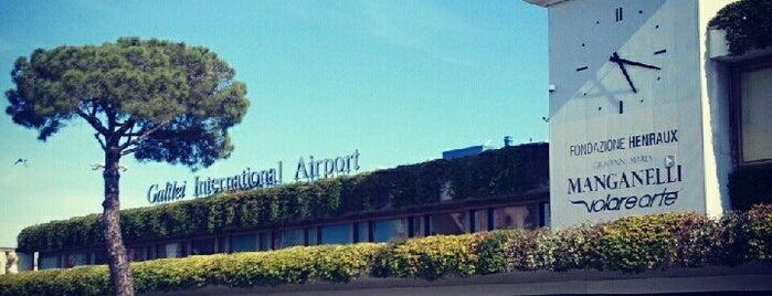 "Aeroporto di Pisa ""Galileo Galilei"" (PSA) is one of #4sqCities #Pisa - Tips for travellers!."
