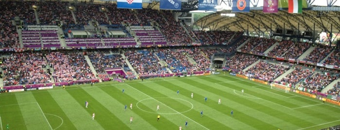Stadion Miejski is one of EURO 2012 FRIENDLY PLACES.
