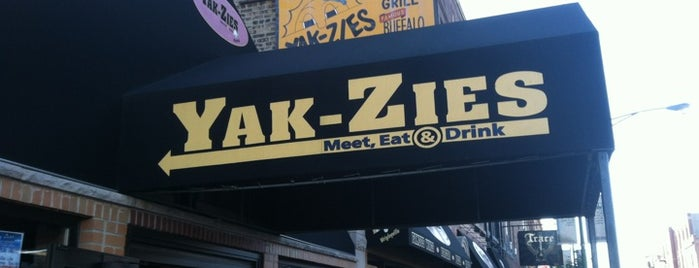 Yak-Zies Bar-Grill is one of Visited Restaurants.