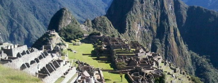 Machu Picchu is one of wonders of the world.