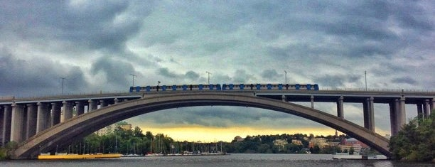 Tranebergsbron is one of Stockholm.