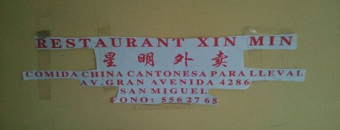Xin Ming is one of Donde llevar a la polola.