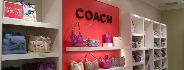 COACH Outlet is one of Lynnes list.
