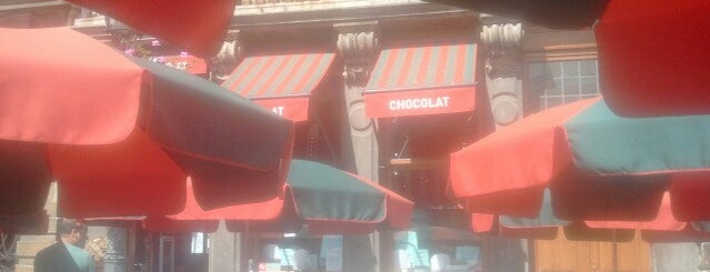 La Maison des Maitres Chocolatiers Belges is one of Brusella.