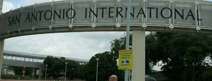 San Antonio International Airport (SAT) is one of The Crowe Footsteps.