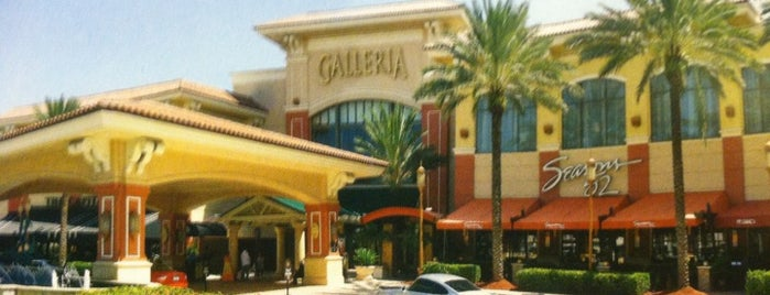 The Galleria is one of Coral Springs.
