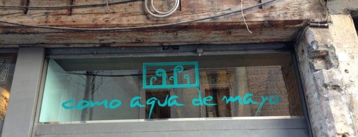 Como Aqua De Mayo is one of Cozy Stores BCN.