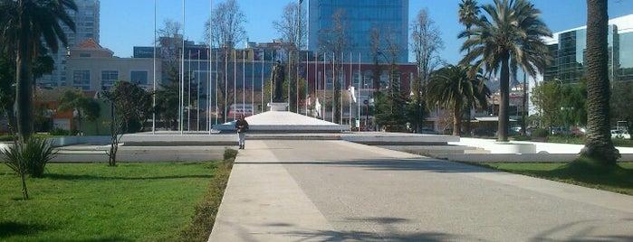 Plaza Bernardo O'Higgins Riquelme is one of Chile.