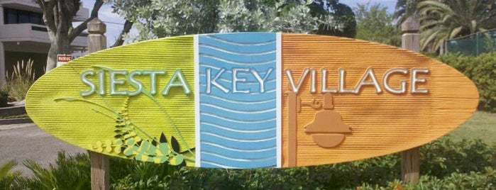 Siesta Key Village is one of Siesta key.