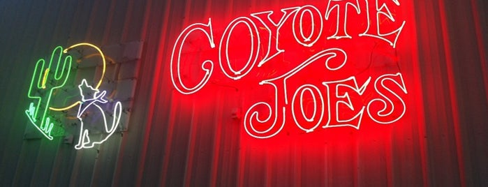 Coyote Joe's is one of CMT On Tour.