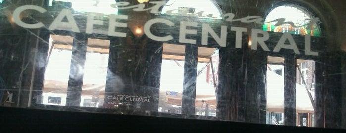 Café Restaurant Central is one of Misset Horeca Café Top 100 2012.