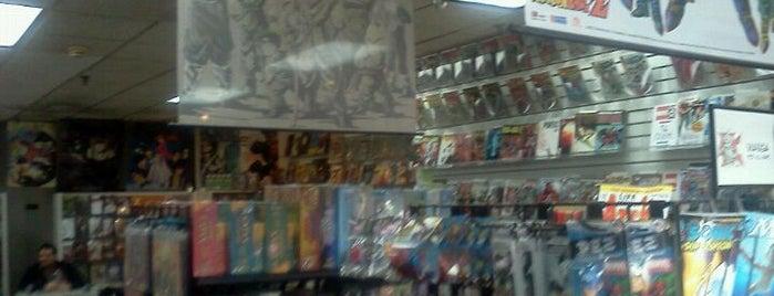 New World Manga - Comics Cards Games is one of Lieux sauvegardés par Stuart.