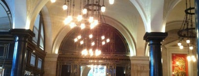 The Wolseley is one of London, best of.