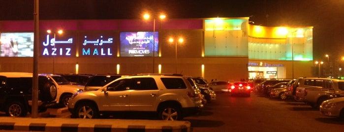 Aziz Mall is one of 🐝Nhag'ın Kaydettiği Mekanlar.