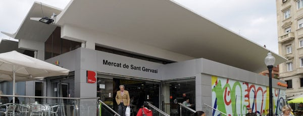 Mercat de Sant Gervasi is one of Mercados....
