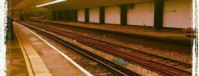 Chessington South Railway Station (CSS) is one of You calling me a train spotter?.