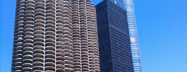 Marina City is one of 101 places to see in Chicago before you die.