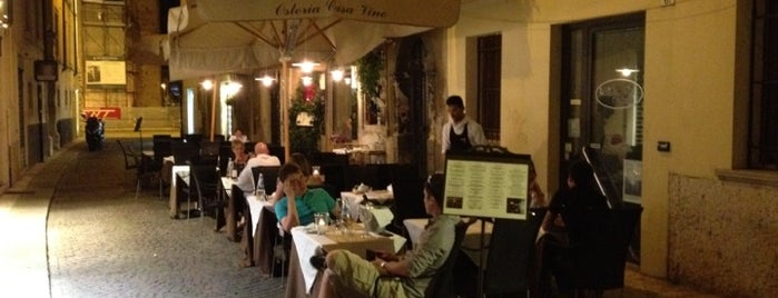 Osteria Casa Vino is one of Italy.