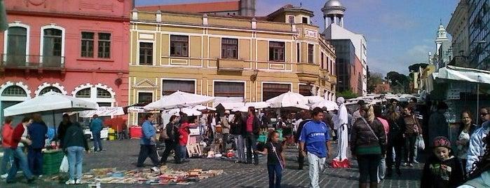 Feirinha do Largo da Ordem is one of Feiras livres de Curitiba.