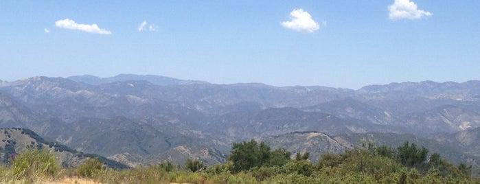 Romero Canyon Front Side North Trailhead is one of Santa Barbara.