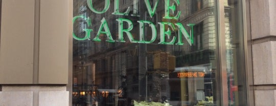 Olive Garden is one of New York City Spots.
