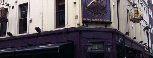 The Crown & Two Chairmen is one of London.