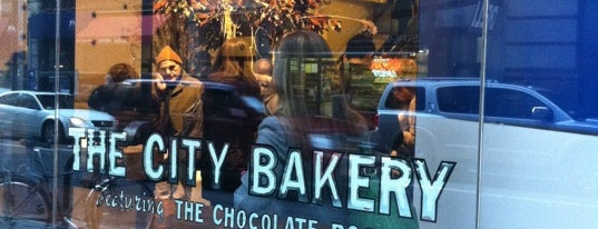 The City Bakery is one of New York.
