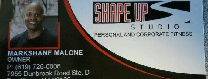 Markshane's Shape Up Studio is one of Locais curtidos por Bill.