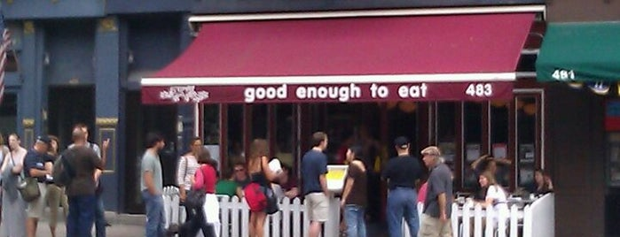 Good Enough to Eat is one of UWS Chill Neighborhood Spots.