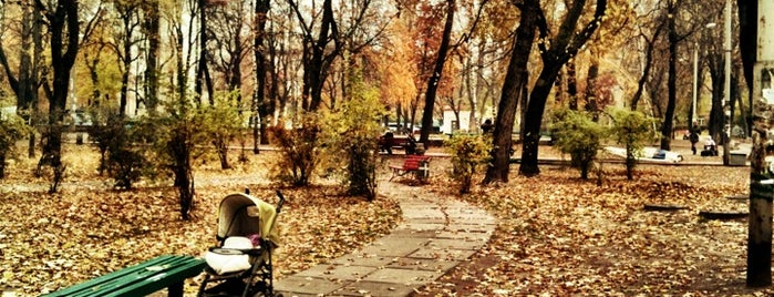 Павлівський сквер is one of Tempat yang Disukai Niche.