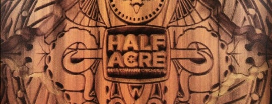 Half Acre Beer Company is one of Chicago Favorites.
