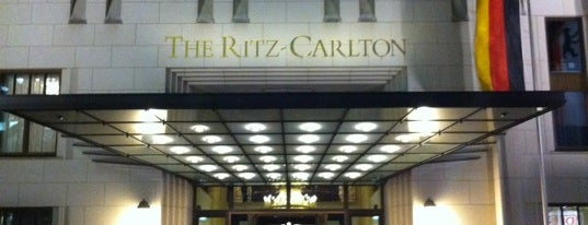 The Ritz-Carlton, Berlin is one of Lieux qui ont plu à Hisham.
