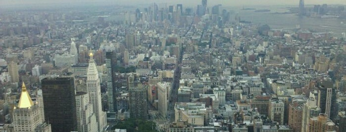 86th Floor Observation Deck is one of Rooftops in New York City.
