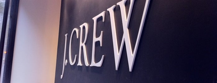 J.Crew is one of NYC shops.