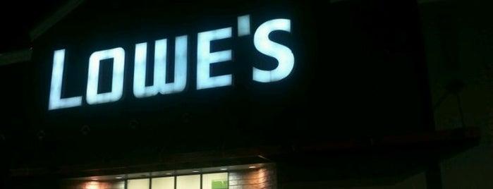 Lowe's is one of สถานที่ที่ Mark ถูกใจ.