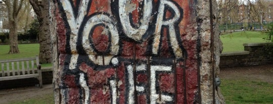 Section of The Berlin Wall is one of Tired of London, Tired of Life (Jan-Jun).