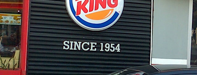 Burger King is one of 食事.