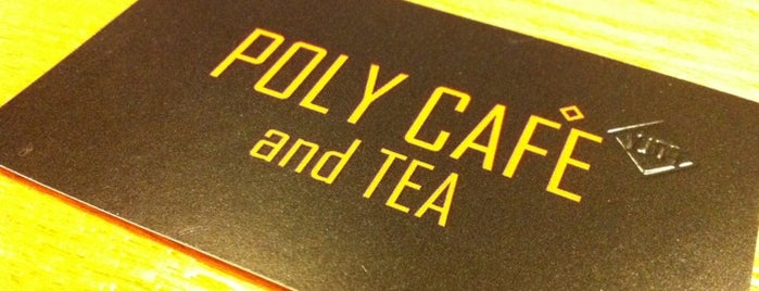 POLY CAFE and TEA is one of Samantha 님이 저장한 장소.