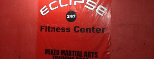 Eclipse 24/7 Fitness Center is one of Jeric'in Kaydettiği Mekanlar.