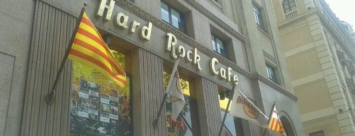Hard Rock Cafe Barcelona is one of Hard Rock Cafes I've Visited.