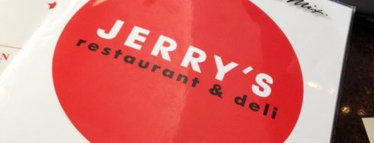 Jerry's Famous Deli is one of Orte, die Luke gefallen.
