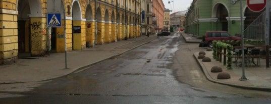 Dumskaya Street is one of Roga4ev'in Kaydettiği Mekanlar.