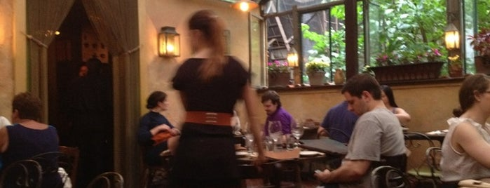 Uva is one of Heated Outdoor Dining in NYC.